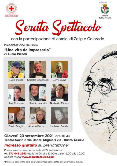 DEFINITIVO 2 locandina spettacolo teatrale Lucio Piccoli
